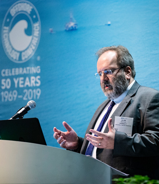 Alan Macleay speaks during Technical Sessions: Technical Advances for Cost Reduction of Offshore Wind Energy