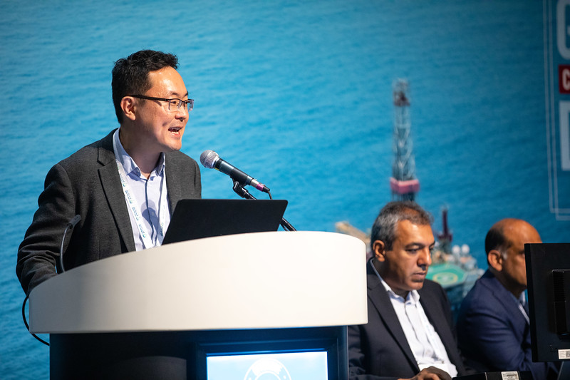 Jung Chan Choi speaks during Morning Panel and Technical Sessions: Digitalization Deployed: Case Studies