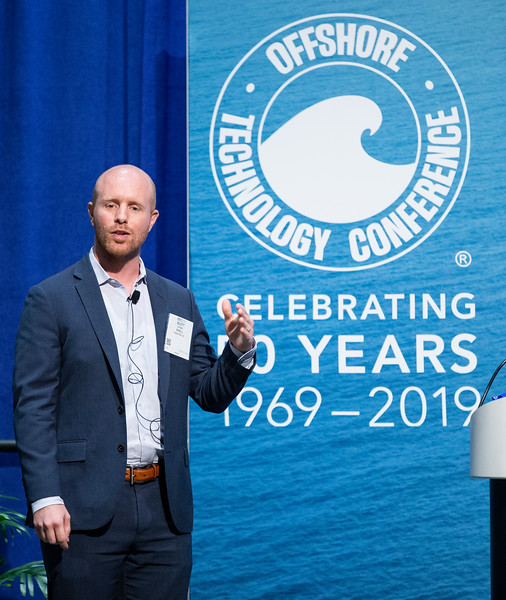 Scott Hyder speaks during Afternoon Panel and Technical Sessions: Phased Deepwater Field Developments