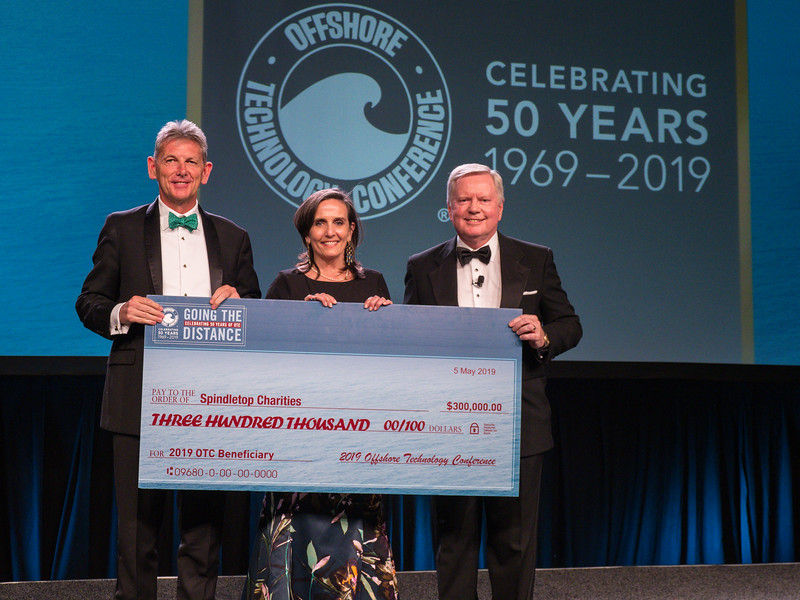 Spindletop Charity Awardees during Gala Dinner