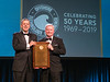 Carlos Mastrangelo receives Distinguished Achievement Awardees during Gala Dinner
