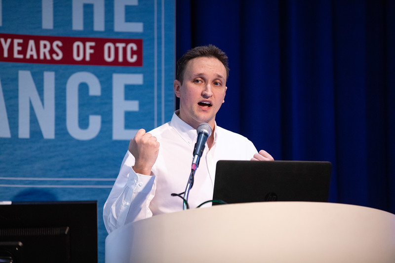 Matt Pusard speaks during Technical Sessions: Advances in Fluid Flow and Thermal Behavior Modeling for Flow Assurance Engineering