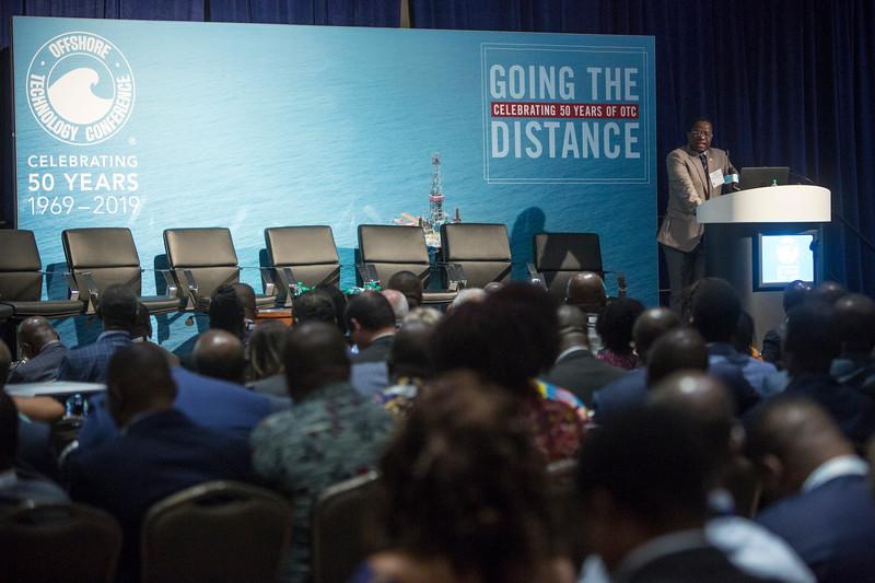 John-Peter Amewu presents during Around the World Series | Ghana