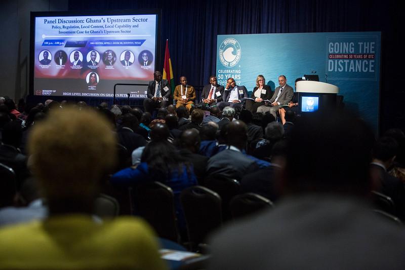 Panelists during Around the World Series   Ghana