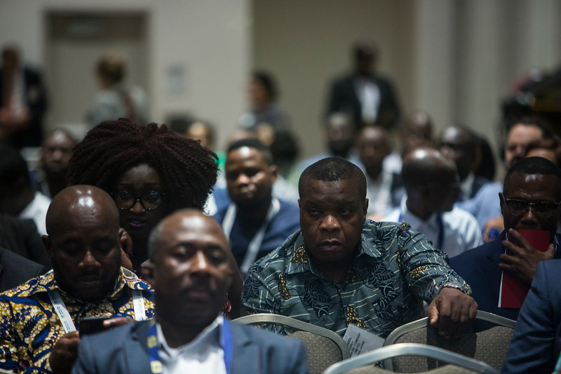 Pannelists during Around the World Series   Ghana