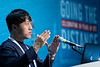 Taeyun Kim speaks during Technical Sessions: FLNG Technology and Offshore Gas Monetization