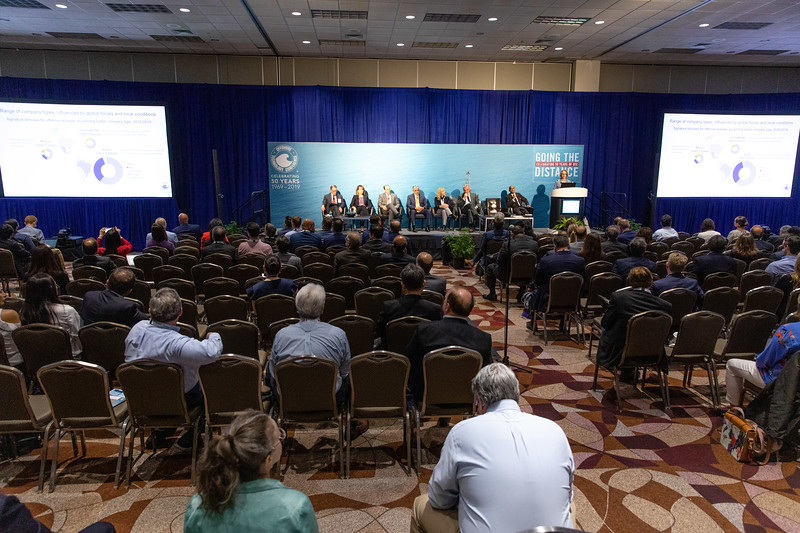 Panelists and attendees during Morning Panel and Technical Session: Coming to Americas