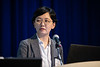 Yoori Kim speaks during Technical Sessions: Topside Innovative Processing and Design