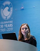 Maie-Laure Ducasse speaks during Technical Sessions: Advances in Offshore Floating Wind Turbine Technology