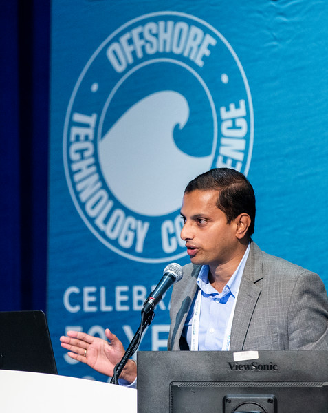 Praveen Linga speaks during Technical Sessions: Advances in Gas Hydrate Production Technology
