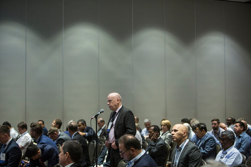 Attendees during Morning Panel and Technical Session: Innovation and Technology for Cost Effective Subsea Processing