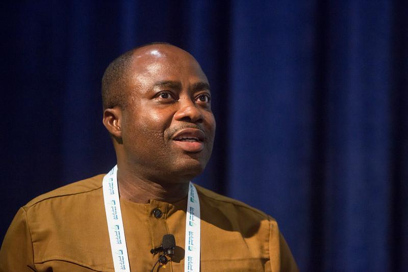 James Dwamena Yamoah during Around the World Series   Ghana