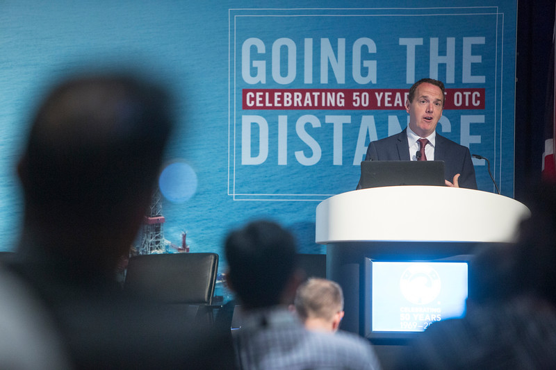 Stuart Payne presents during Around the World Series | United Kingdom