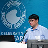 Chul-Whan Kang speaks during Technical Sessions: Advances in Gas Hydrate Production Technology