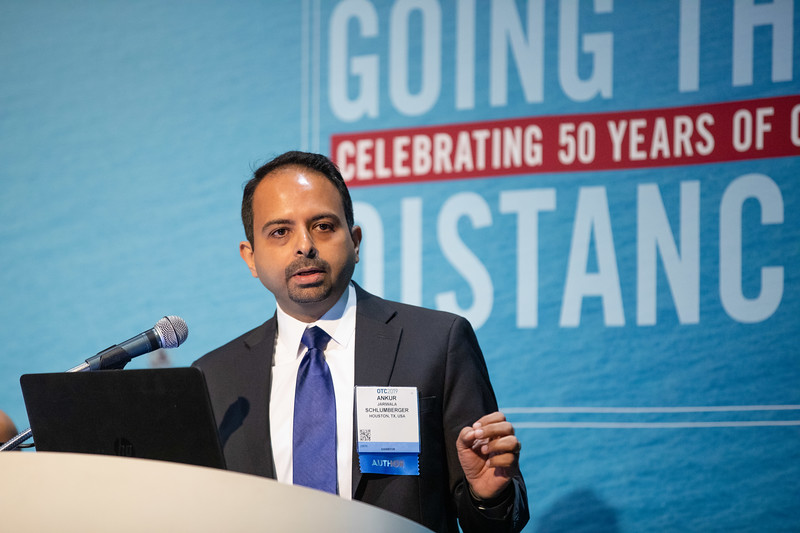 Ankur Jariwala speaks during Technical Sessions: Topside Innovative Processing and Design