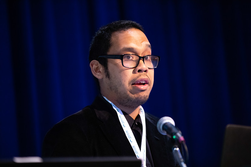 Auzan Soedarmo speaks during Technical Sessions: Advances in Fluid Flow and Thermal Behavior Modeling for Flow Assurance Engineering