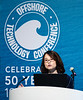 Yijun Liu speaks during Technical Sessions: FLNG Technology and Offshore Gas Monetization