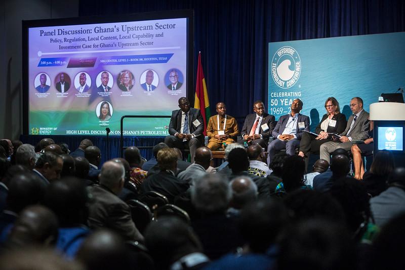 Panelists during Around the World Series | Ghana