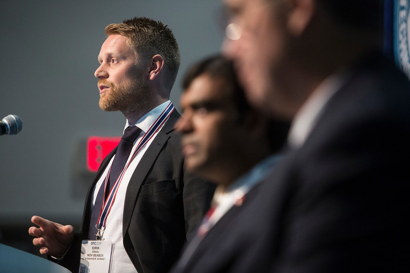 Eirik Dirdal presents during Morning Panel and Technical Session: Innovation and Technology for Cost Effective Subsea Processing