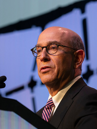 Myles Brown, MD speaks during AACR  DISTINGUISHED LECTURESHIP IN BREAST CANCER RESEARCH
