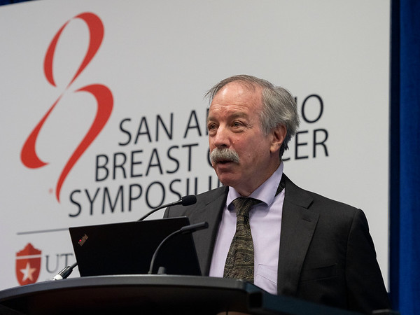Jack Cuzick, PhD discusses Breast Cancer Preventive Effects of Anastrozole Persist Long After Stopping Treatment during the Thursday morning Press Conference