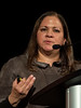 Rita Nanda, MD speaks during Immunotherapy for Triple-Negative Breast Cancer Education Session