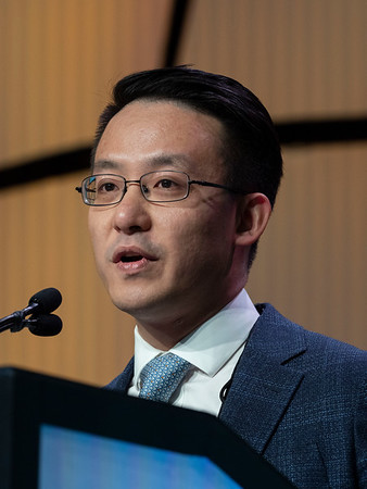 J Li speaks during the GENERAL SESSION 1