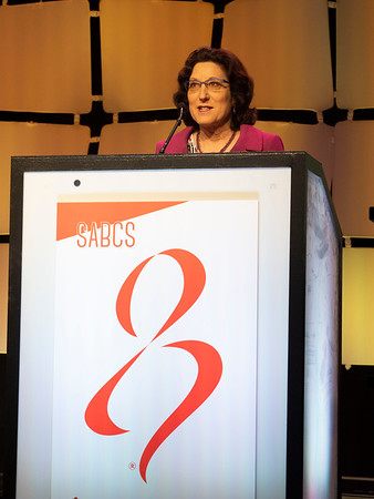 Hope S Rugo speaks during the GENERAL SESSION 1