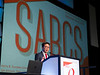 E Lim speaks during the SUSAN G. KOMEN® BRINKER AWARD FOR SCIENTIFIC DISTINCTION IN BASIC SCIENCE