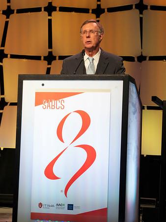 Dr C Kent Osborne speaks during the Opening Session