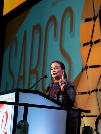 Martine Piccart speaks during the GENERAL SESSION 1