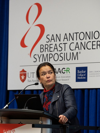 Martine Piccart, MD,PhD, discusses Updated APHINITY Trial Data ShowAddition of Pertuzumab to Trastuzumab PlusChemotherapy Continues to Yield Clinical Benefitin Patients WithOperable HER2-positive Early Breast Cancer during Opening Press Conference