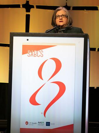 Ellen Puré, PhD speaks during the LENARY LECTURE 1