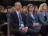 Jane Visvader, PhD and Geoffrey Lindeman, MBBS, FRACP, PhD during the SUSAN G. KOMEN® BRINKER AWARD FOR SCIENTIFIC DISTINCTION IN BASIC SCIENCE