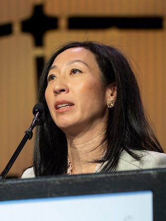Jo Chien, MD speaks during the GENERAL SESSION 1