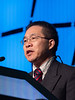 H Pan speaks during the SUSAN G. KOMEN® BRINKER AWARD FOR SCIENTIFIC DISTINCTION IN BASIC SCIENCE