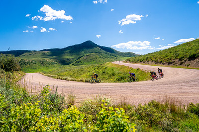 2019 Steamboat Gravel cycling race.