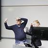 Interpreters at talk