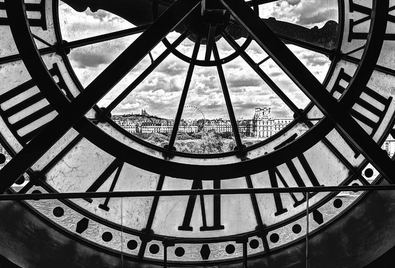 Window in Time BW