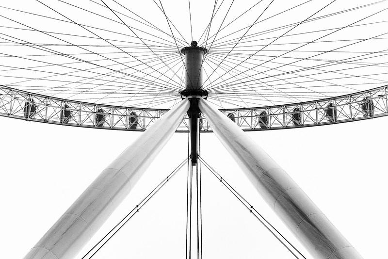 London Eye - Hub and Spokes