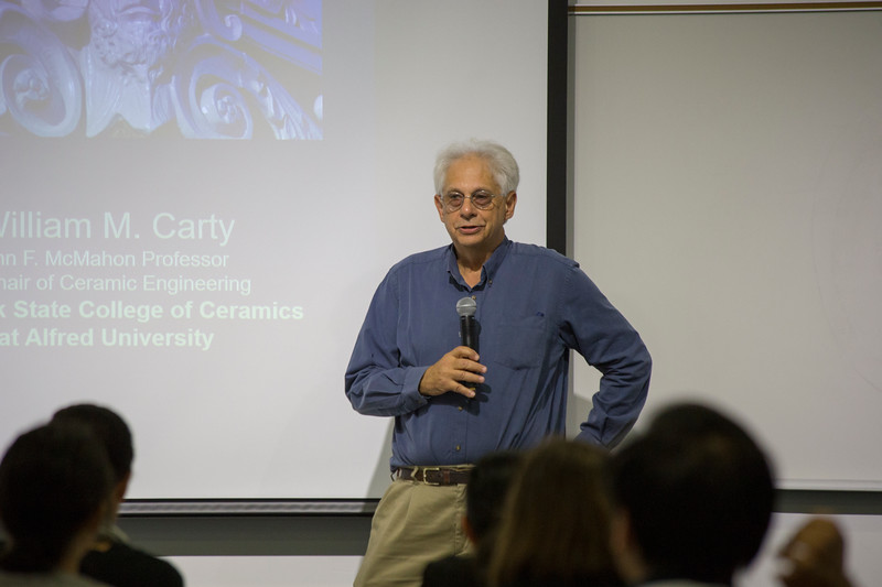 Introduction to Carty Lecture by Mitchell Bring