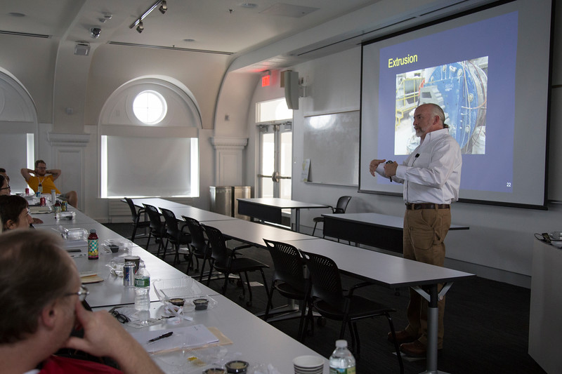 Lecture by William M. Carty, PhD, Alfred University
