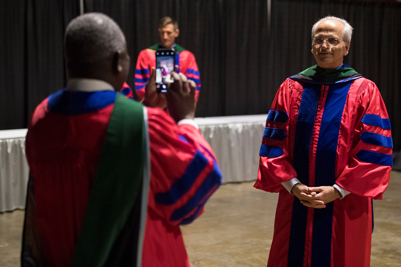 Attendees during Convocation