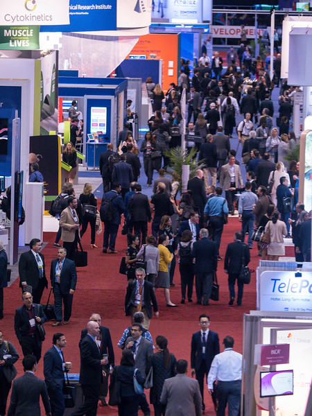 Attendees during Expo Opening