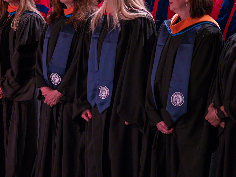 Fellows during Convocation