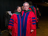 Dipti Itchhaporia and Thad Waites Convocation