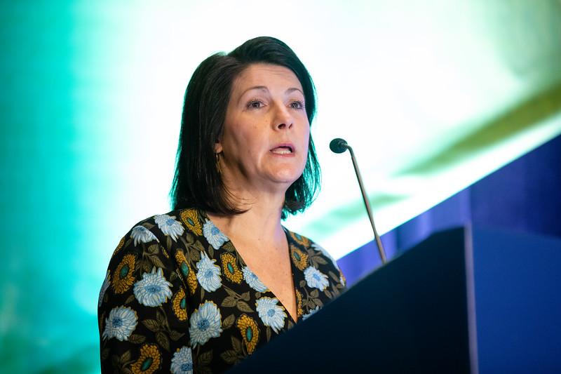 Cheryl Dennison speaks during Prevention Guideline Session