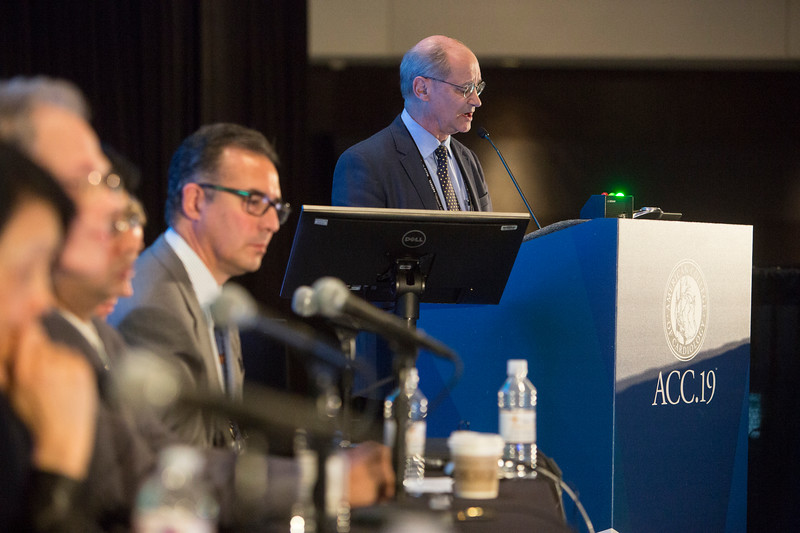 Kim Eagle presents during Featured Clinical Research III: Alcohol AF, REVEAL ODYSSEY Outcomes, Declare TIMI-58, IRAD