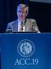 Gerard R. Martin, MD, FACC during 2019 Dan. G. McNamara Keynote
