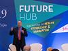 Keynote speaker Harlan Krumholz during Future Hub Keynote